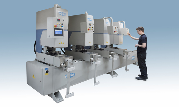 WORLD OF WINDOWS LTD INVESTS IN NEW SMR-4 FOUR HEAD WELDER