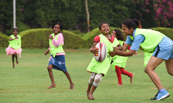 INDIAN SUMMER: SLIDERS UK SUPPORTS  INDIAN SCHOOLS RUGBY PROGRAMME