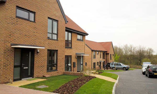 110 VEKA CASEMENTS FROM SOVEREIGN COMPLETE STYLISH SUSSEX HOUSING DEVELOPMENT