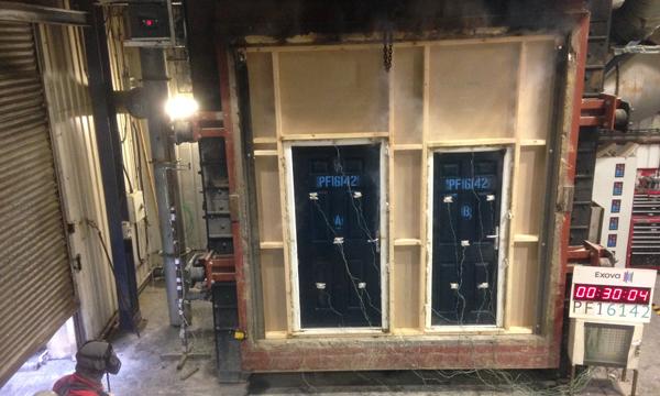 EUROGLAZE STARTS MANUFACTURE OF NEW REHAU AGILA FIRE DOOR