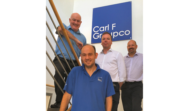 CARL F GROUPCO CELEBRATES LONG-SERVING STAFF