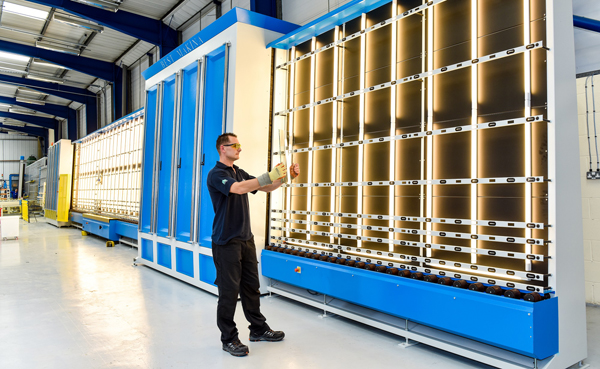 MORLEY GLASS INVESTS IN AUTOMATED TECHNOLOGY TO IMPROVE PRODUCTION CAPACITY