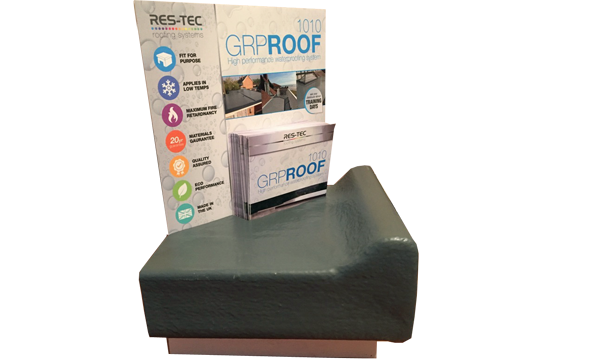 NATIONAL PLASTICS STORES TO STOCK RES-TEC'S GRP ROOF 1010 SYSTEM