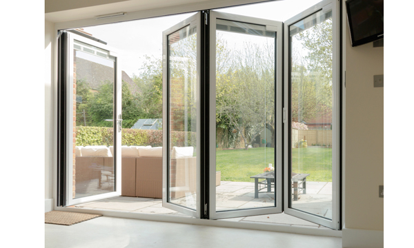 NEW SLIMMER PROFILE FOR SAPA BUILDING SYSTEM'S SUCCESSFUL CROWN SLIDING FOLDING DOOR