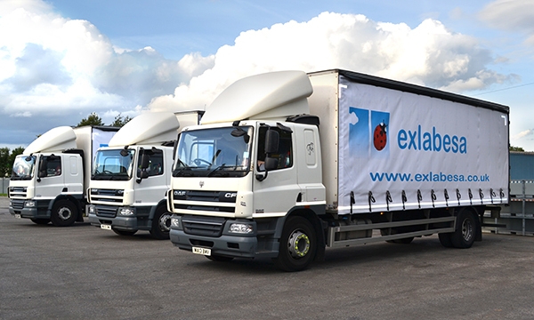 EXLABESA VEHICLES RECEIVE A MAKEOVER
