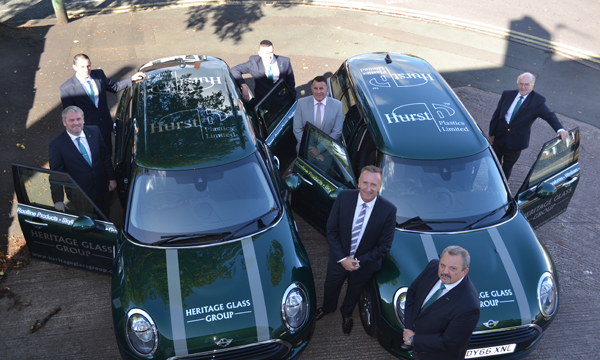 HERITAGE ACCELERATES WITH HELP FROM HURST PLASTICS