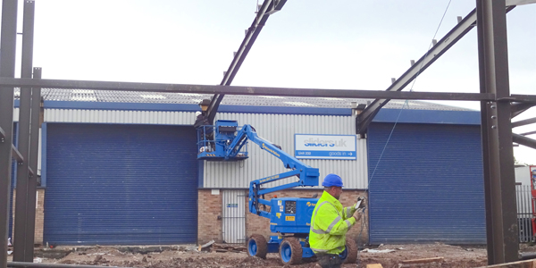 'BREAKING NEW GROUND': WORK STARTS  ON SLIDERS UK 10,000 SQ FT FACTORY EXPANSION