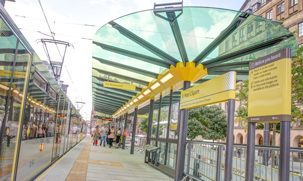 ROMAG HAS NEW CITY CENTRE TRAM WAY STOP COVERED