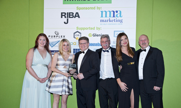 MYGLAZING.COM WINS CONSTRUCTION MARKETING AWARD