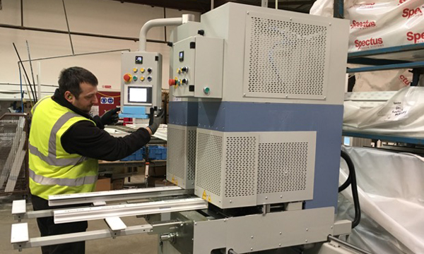 HAFFNER MURAT MACHINES HELPING MERCURY GLAZING SUPPLIES PLANS FOR GROWTH