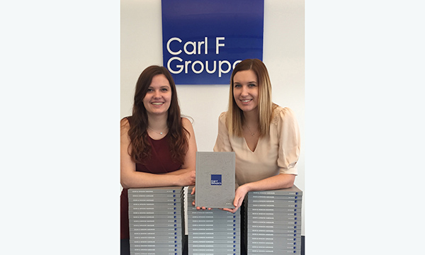 BUMPER CARL F GROUPCO CATALOGUE IS BIGGEST TO DATE