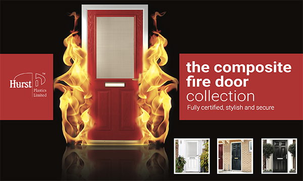 HURST FIRES UP WITH COMPOSITE FIRE DOOR SOLUTION