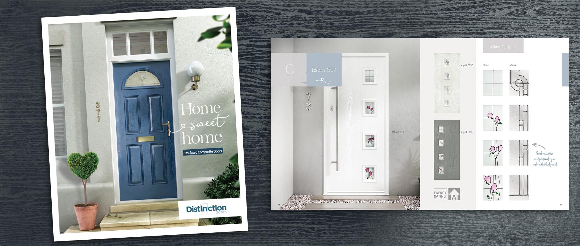 DISTINCTION DOORS NEW RETAIL BROCHURE IN HIGH DEMAND & DISTINCTION DOORS NEW RETAIL BROCHURE IN HIGH DEMAND | Glass News
