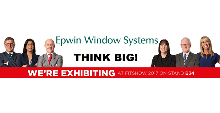 NEW INNOVATIONS ON DISPLAY ON EPWIN WINDOW SYSTEMS' STAND AT THE FIT SHOW
