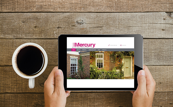 MERCURY GLAZING LAUNCH THEIR NEW WEBSITE