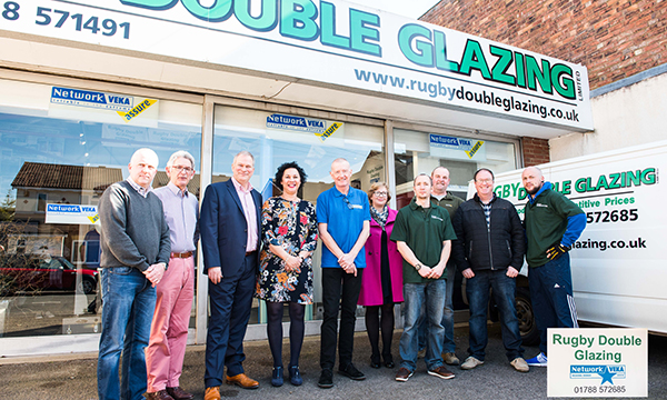 NETWORK VEKA SUPPORTS REVAMPED RUGBY DOUBLE GLAZING LAUNCH
