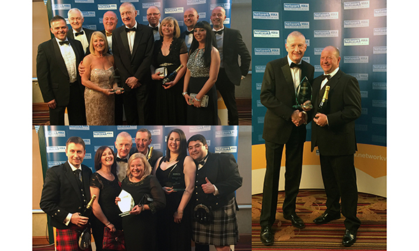 GLAZERITE GANG CLAIM A RECORD TROPHY ROUT AT NETWORK VEKA AWARDS
