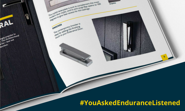 ENDURANCE UNVEIL #YOUASKEDENDURANCELISTENED INITIATIVE