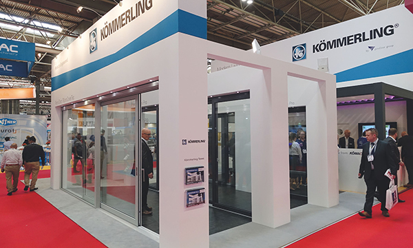 KÖMMERLING DELIVER A 76MM FIT SHOW INNOVATION ZONE