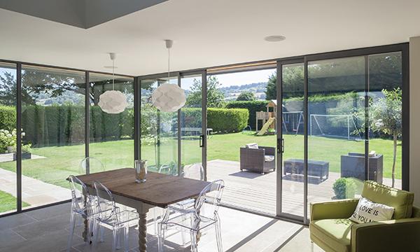 Mercury Glazing increases aluminium patio door range