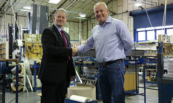 Premium door system boosts sales at aluminium specialist