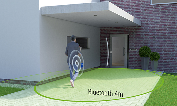 NEW APP-BASED PRODUCT ENABLES HANDS-FREE OPERATION OF FRONT DOORS