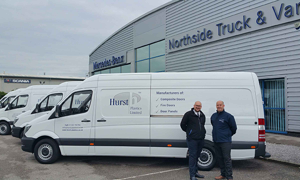 HURST DRIVES AHEAD WITH NEW DELIVERY FLEET