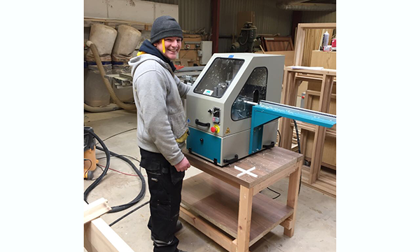BAILEY-HAGUE JOINERY PRAISES MIGHTON'S X-CUT™ CROSS JOINTER