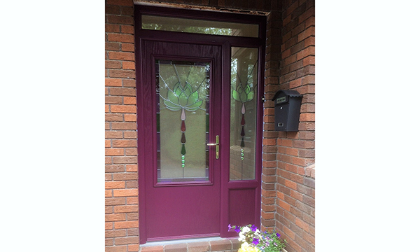 BESPOKE DOOR EARNS APEER INSTALLER A GLOWING REVIEW