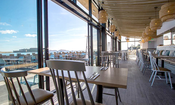 CDW PRODUCTS THE CATCH OF THE DAY FOR GUERNSEY RESTAURANT