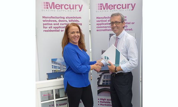 MERCURY GLAZING SIGNS UP TO EXCELLENCE AS STANDARD PROGRAMME