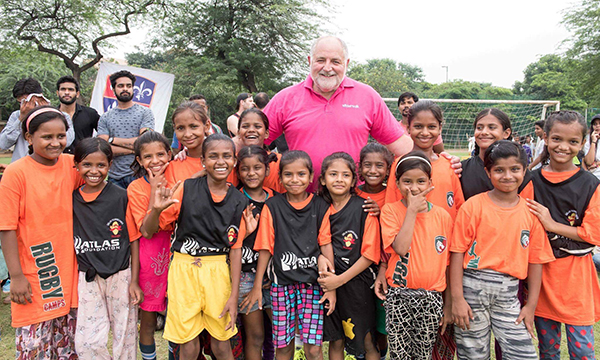 'GOOD SPORT': SLIDERS UK SUPPORTS  INDIAN SCHOOLS RUGBY PROGRAMME