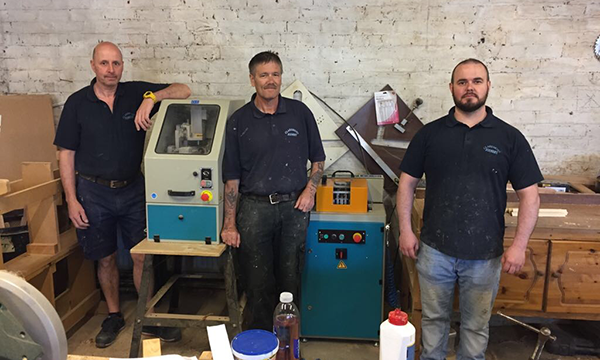 HIGH PRAISE FOR MIGHTON MACHINERY FROM CLAREMONT JOINERY