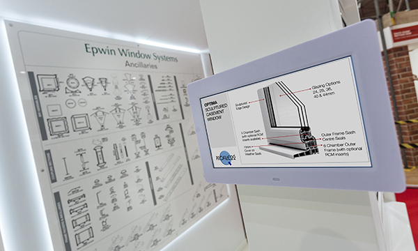 CREATE A PERFECTLY BALANCED INSTALLATION WITH OPTIMA FROM PROFILE 22