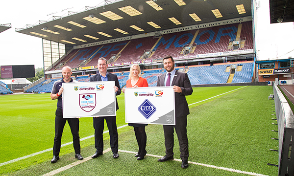 VEKA TEAMS UP WITH BURNLEY FC