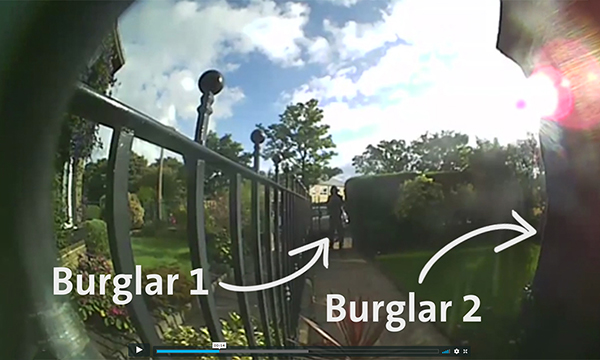 VIDEO PROVES ULTION SECURITY IS MORE THAN A MATCH FOR BURGLARS