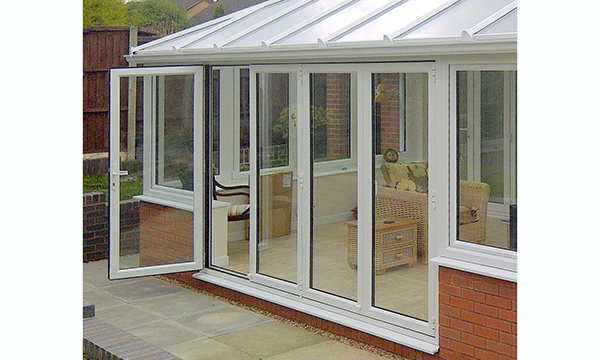 ALUMINIUM BIFOLD DOORS, READY IN JUST 2 WEEKS FROM FRAME FAST UK