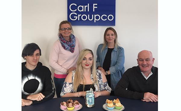 CARL F GROUPCO RAISES FUNDS  FOR LOCAL CHARITIES