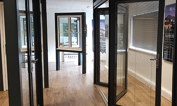 REAL ALUMINIUM SHOWS OFF EXTENDED RANGE IN NEW SHOWROOM