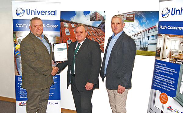 UNIVERSAL TRADE FRAMES BECOMES EXCELLENCE AS STANDARD MEMBER