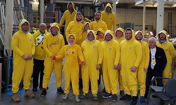 ICOTHERM BECOMES TEAM PUDSEY FOR CHILDREN IN NEED