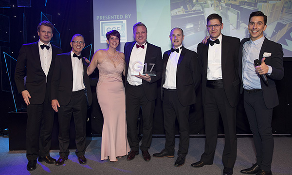 GGF DELIGHTED WITH G17 AWARDS