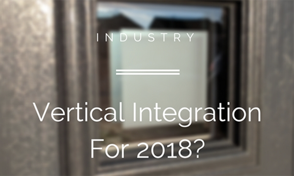 Could We See More Vertical Integration In The Window Industry Next Year?