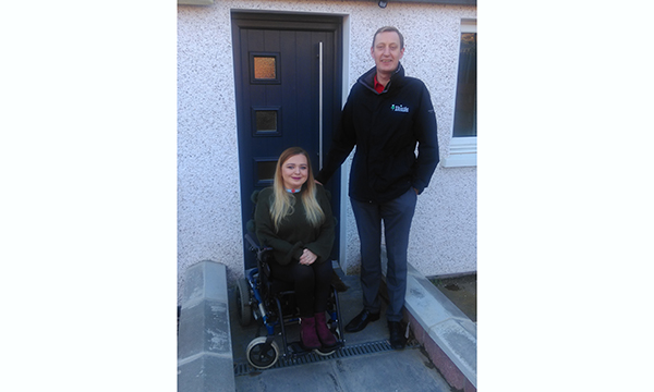 THISTLE SUPPORTS CUSTOMER WITH RARE CONDITION WITH SOLIDOR INSTALLATION