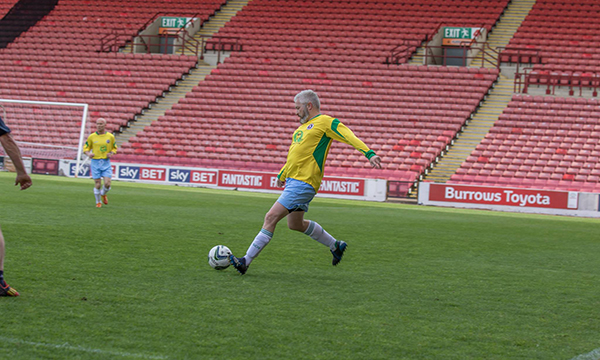 GQA SUPPORTS BARNSLEY FIT REDS CAUSE TO GET MEN FIT
