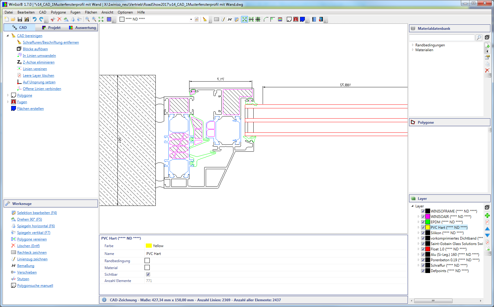 SOFTWARE FOR THERMAL CALCULATION OF WINDOWS AND FACADES IS VALIDATED BY IFT ROSENHEIM