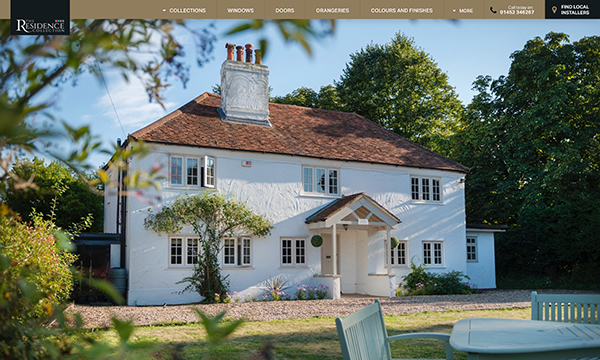 A WEBSITE EXPERIENCE FROM THE RESIDENCE COLLECTION
