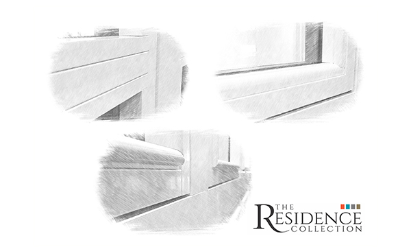 5 BEADS, 3 SYSTEMS AND SHARED PROFILES FOR THE RESIDENCE COLLECTION