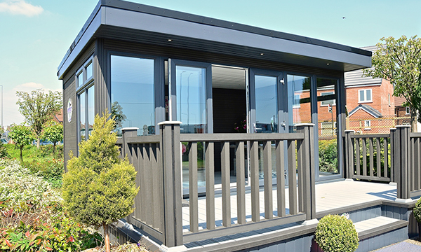 EUROCELL GARDEN ROOMS OPEN UP SHED LOADS OF SPACE