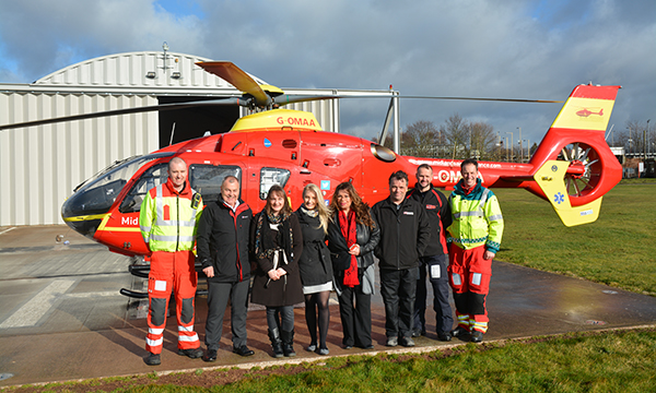 AIR AMBULANCE LIFTS OFF WITH HELP FROM ERA